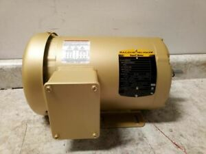 Baldor Electric Em3558 2 Hp 1755 Rpm 208 230 460v 3 phase General Purpose Motor
