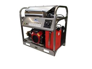 Hot cold Water Pressure Washer 10gpm 3500psi new ss Frame panels