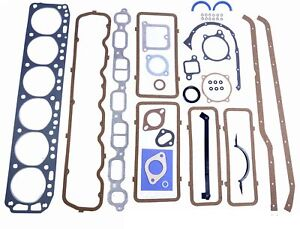 Chevy Fits 230 3 8 Car Engine Full Gasket Set 68 69