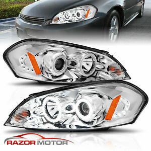 2006 2013 For Chevy Impala 06 07 Monte Carlo Chrome Projector Headlights