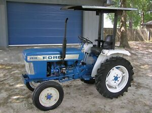 Ford 1510 Tractor Hood Decal