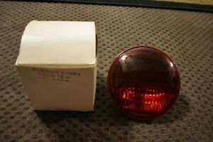 Vintage Ac 4413r Red Lamp Old Police Fire Emergency Vehicle 12v Free Shipping
