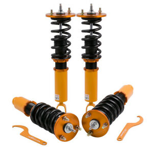 Coilovers For Honda Accord 90 97 Acura Cl 97 99 Shock Absorber Strut Adj Damper