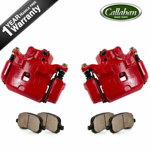 For 2002 2003 2004 2005 Infiniti G35 Nissan 350z Front Brake Calipers And Pads