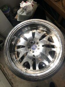 22 Lorenzo Rims W Tires