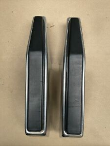 1981 1987 Chevy Truck Front Bumper Guards K5