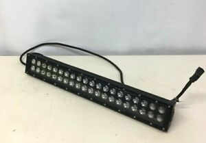 20 Kc Hilites Led Light Bar With 2 Rows 20 Lights Each For Off road Vehicle