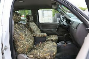 Custom Fit Camo Front Bucket Seat Covers For The 2009 2012 Dodge Ram