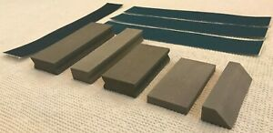 Hobby Hand Sand Block Kit Curve Flex Professional Closed Cell Rubber Blend