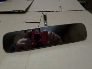 1962 63 1964 Ford Galaxie Falcon Nos Inside Rear View Mirror Glass Is Excellent