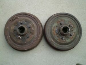 55 56 57 Chevy Belair Nomad 210 150 Front Brake Drums