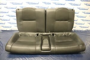 2005 06 Acura Rsx Type s K20z1 2 0l Oem Black Leather Rear Seats wear 4471