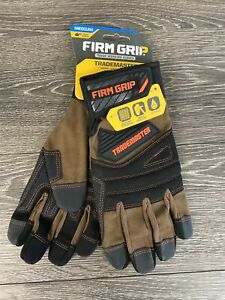 Firm Grip 55276 Trademaster Gloves Duck Canvas Impact Protection medium
