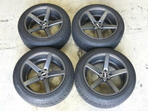 Str Style 607 20 Inch Wheels For Range Rover Sport Hse With Nexen Roadian Tires