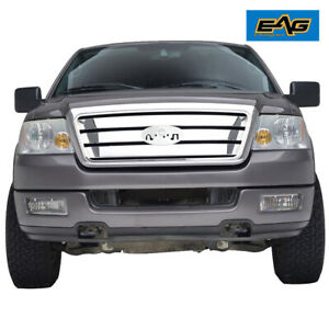 Eag Front Grill W Shell Full Upper Replacement Grille Fit 04 08 Ford F150
