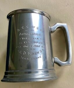 Hudson terraplane Racer Trophy Winning Cup 32 33 34 35 36 37 38 For Collection