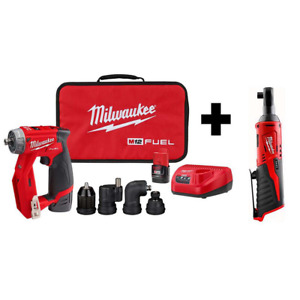 M12 Fuel 12 Volt Lithium Ion Brushless Cordless 4 In 1 Installation 3 8 In Dril