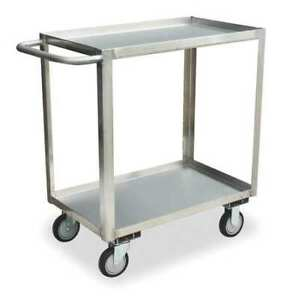 Jamco Xb348s500 16 Ga Stainless Steel Utility Cart 1200 Lb Capacity 54 l X