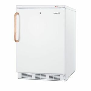 Accucold Vt65mltbc One Section Solid Door Undercounter Freezer 3 5 Cu Ft