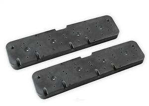 Holley 241 298 Valve Cover Adapter Plates Gm Ls Engines Fits Small Block Chevy