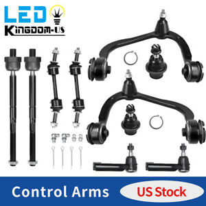 10x Front Control Arm Ball Joint Suspension Kit For 2009 2014 Ford F 150 2wd 4wd