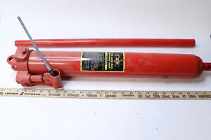 Strongway Nt30808 Double Piston Clevis Base Long Ram Hydraulic Jack 8 ton