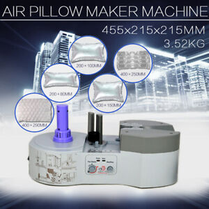 1 45kw Air Pillow Cushion Bubble Packaging Wrap Maker Machine Wi 1000 film