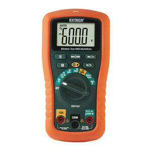 Extech Mm750w Digital Multimeter backlit 5 Digit Lcd