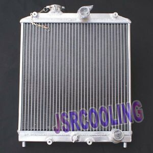 3 Row Aluminum Radiator For Honda Civic 1992 2000 Mt New W 32mm Inlet Outlet