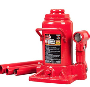 Torin Big Red Hydraulic Stubby Bottle Jack 12 Ton 24 000 Lb Capacity
