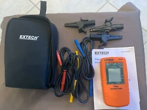 Extech 480400 Phase Sequence Tester 40 600vac