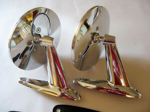 Dodge Coronet 1965 1970 Pair Chrome Door Mirror New 2pcs