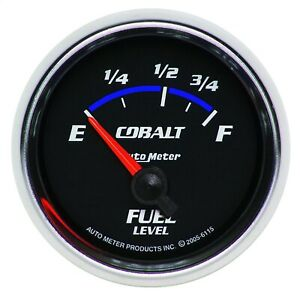 Autometer 6115 Cobalt Electric Fuel Level Gauge