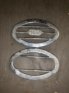 Mga Emblem Small Grille Vents Chrome Metal