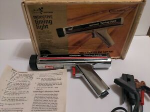 Sears Craftsman Inductive Timing Light Clamp On Original Box Manual