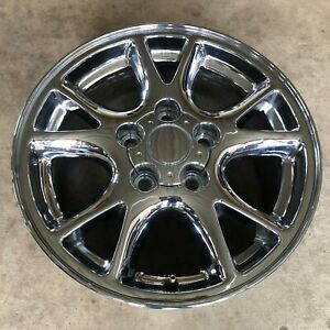2000 2002 Chevy Camaro Chrome Wheel Rim Oem 16x8 5089 Factory Alloy Cap