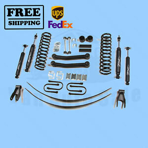 Zone 4 5 Lift Kit For 1984 2001 Jeep Cherokee Xj 4wd Gas
