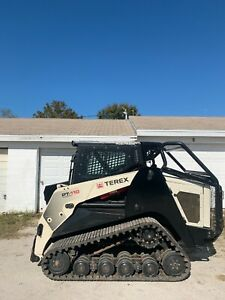 Terex Pt110f Forestry Tracked Skid Steer
