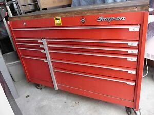 Snap On Tool Box Bottom Portion With Tools