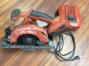 Hilti Scw 22 a Cordless Circular Saw W Battery Charger Used Tested Works