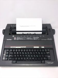 Brother Self Correcting Ax 24 Portable Electronic Typewriter