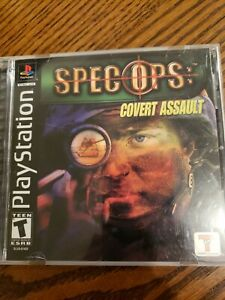 Spec Ops: Cover Assault Sony Playstation 1 Original PS1 Complete Authentic $6.50