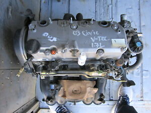 03 0honda Civic 1 7l Vtec Engine