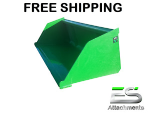 Es 72 John Deere Jd Snow mulch Bucket Skid Steer Loader Bucket Free Shipping