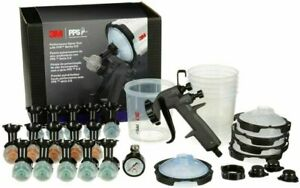 3m 26778 Performance Spray Gun Starter Kit With Pps 2 0 Paint Spray Cup System