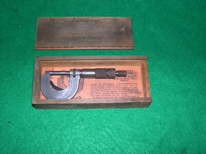 Lufkin 1641 0 1 With Lock Ratchet In Original Box Papers