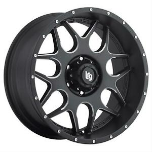 1 New Lrg Splits 104 Black 20 X 9 Wheel 10429036900 6 On 135mm Ford F150