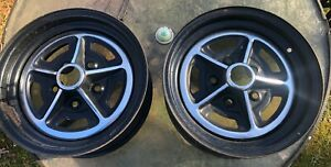 Two Buick Gs Skylark Lesabre 14x6 Rally Wheels Original Buick 1967 71
