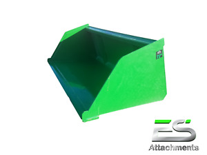 Es 72 John Deere Jd Snow mulch Bucket Skid Steer Loader Bucket Local Pickup