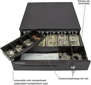Cash Register Drawer For Point Of Sale pos System With 5 Bill 6 Coin Cash Tray